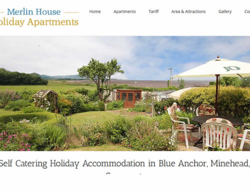 NEW Website for Merlin Holiday Cottages