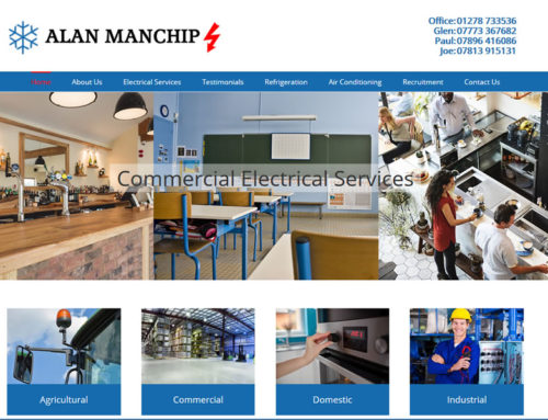 New websites for Alan Manchip & Broadlands Homes