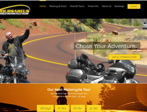 New Website for World Motor Cycle Tours