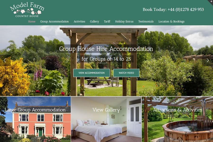 Holdiay Park Website Designers in Somerset