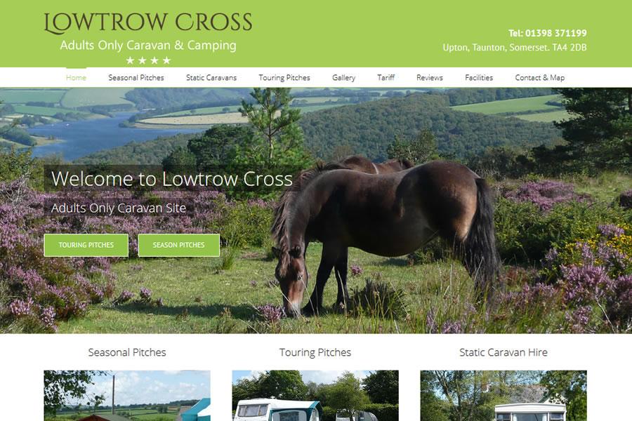 Caravan and Camping Park Website Designers in Somerset